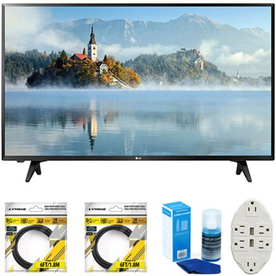 43 inch Full HD 1080p LED TV 2017 Model 43LJ5000 with Cleaning Bundle