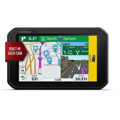 dezlCam 785 LMT-S GPS Truck Navigator with Built-in Dash Cam
