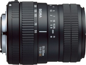 55-200mm f/4-5.6 DC Zoom Lens for Nikon  Digital SLR - OPEN BOX