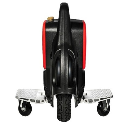 Electronic One Wheel Scooter with Pedals, Training Wheels, & Balance Belt