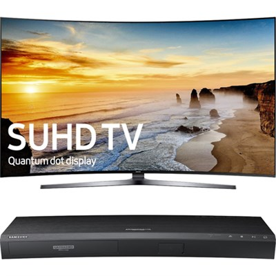 65` Class KS9800 Curved 4K SUHD TV + Samsung UBDK8500 4K UHD Blu-Ray Player