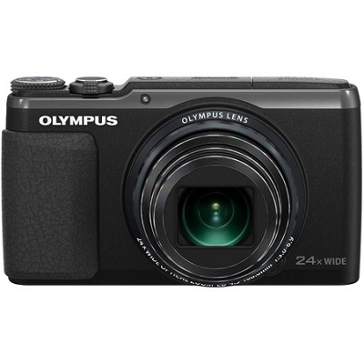 Stylus SH-50 iHS 16MP 24x Wide / 48x SR Zoom 1080p HD Digital Camera - Black
