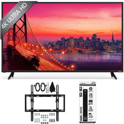 E43u-D2 - 43` SmartCast 4K UHD LED Smart TV Home Theater Tilt Wall Mount Bundle