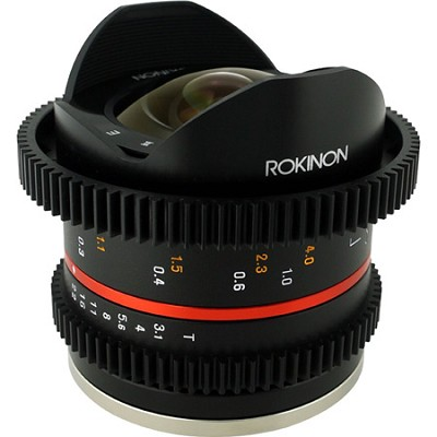 8mm T3.1 Cine Fisheye Lens for Sony E Mount