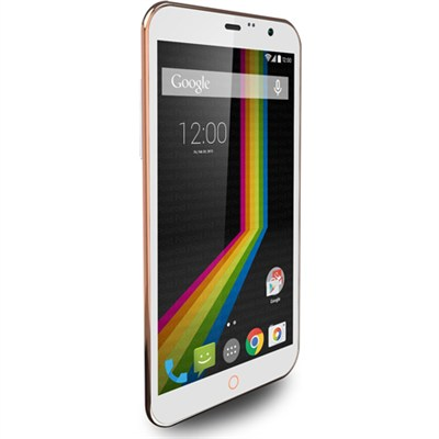 LINK A6 Unlocked Dual Core Smartphone with 6` Display (White) A6WH