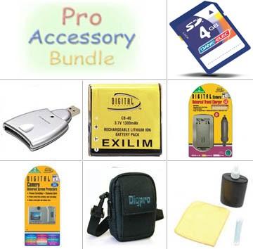 Platinum Accessory Bundle for Casio Exilim  Z- Series Digital Cameras