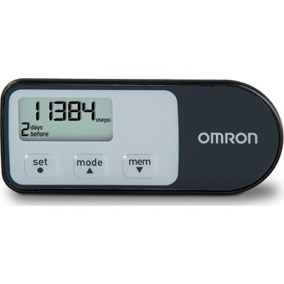 HJ-321 Tri-Axis Optimized Pedometer - Black