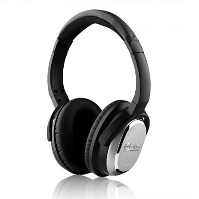 i7 Active Noise-Cancelling Headphones - Black