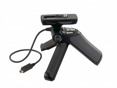Shooting Grip with Mini Tripod for Sony Camcorders