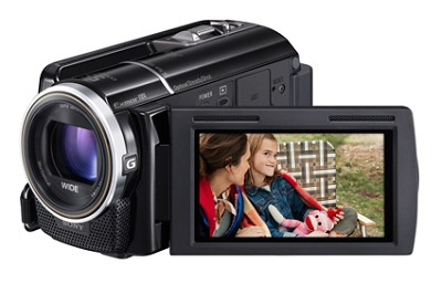 HDR-XR260V HD Camcorder 160GB Built in, 8.9 MP Stills, 30x Opt(Black) - OPEN BOX