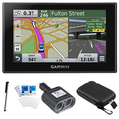 nuvi 2599LMT Advanced Series 5` GPS Navigation System Bundle