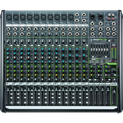 ProFX16v2 16-Channel 4-Bus FX Mixer with USB