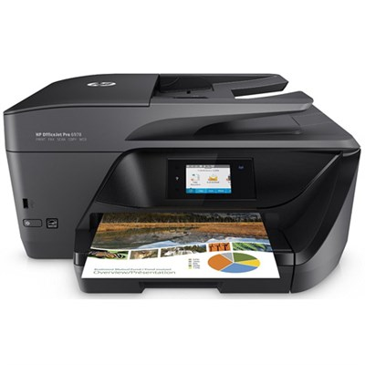 Officejet Pro 6978 Wireless All-in-One Photo Printer with Mobile Printing T0F29A