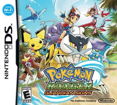 DS Pokemon Ranger: Guardian Signs