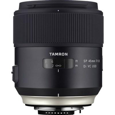 SP 45mm f/1.8 Di VC USD Lens for Nikon Mount (AFF013N-700)