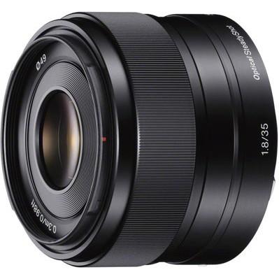 SEL35F18 - 35mm f/1.8 Prime Fixed Lens - OPEN BOX