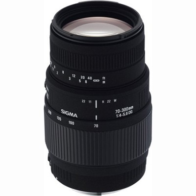 70-300mm f/4-5.6 DG Macro Telephoto Zoom Lens for Pentax and Samsung SLR Cameras