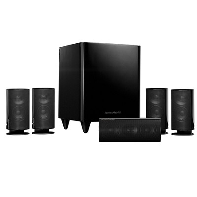 HKTS 20BQ 5.1 Home Theater Speaker System (Black) - OPEN BOX