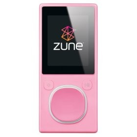 Zune 2nd Generation 4GB Media Player (Pink)