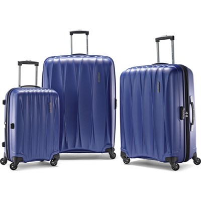 Arona Premium Hardside Spinner 3Pcs Luggage Set 20` 25` 29` (Blue) - 73075-1090
