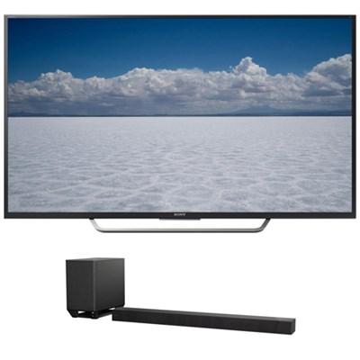 XBR-65X750D - 65` Class 4K UHD TV w/ Sony 7.1.2ch Dolby Atmos Sound Bar