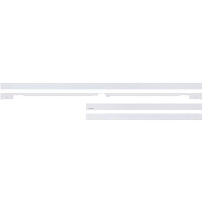 55` Customizable Frame White Metal Finish (VG-SCFM55WM/ZA)