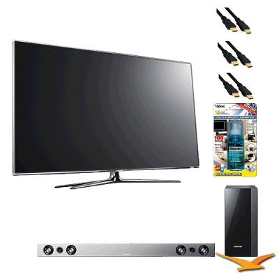 UN55D7000 55 inch 1080p 240hz 3D LED HDTV with HW-D551 - Home Theater Bundle