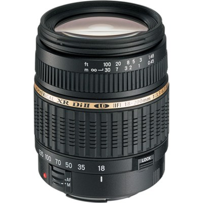 AF18-200 F/3.5-6.3 XR Di II Aspherical [IF] Macro Lens for Nikon Mounts