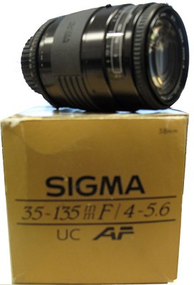35-135mm f/4-5.6 for UC S-AF Nikon - OPEN BOX