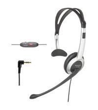 KX-TCA92 Hands-free Headset - Comfort Fold Headband Vol + Mute