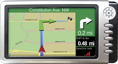 WORLDNAV 7100 GPS Navigation System for Commercial Drivers