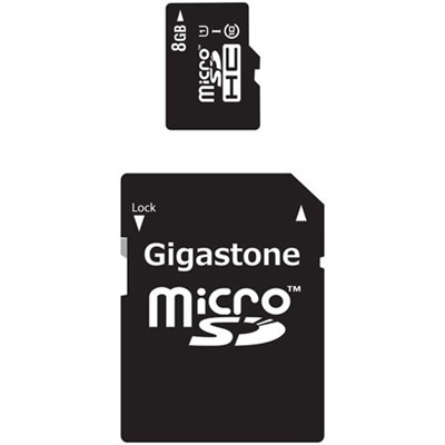 MicroSD HC 8GB C10 U1 With SD Adapter