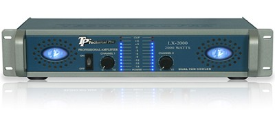 Pro Amplifier 2000 Watts (Blue/Silver)