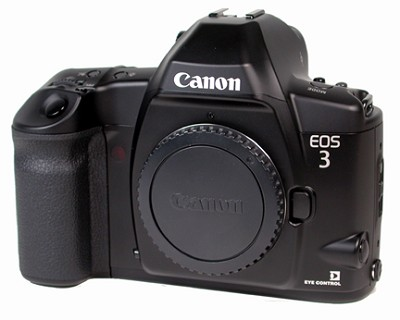 EOS 3 CAMERA BODY WITH ONE YEAR CANON USA WARRANTY