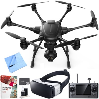 Typhoon H RTF Hexacopter Drone with CGO3+ 4K Camera VR Bundle