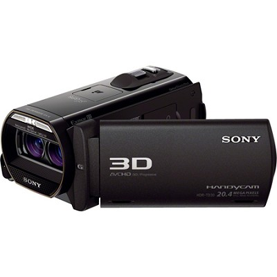 HDR-TD30V Full HD 3D Camcorder w/ GPS and 20.4MP stills