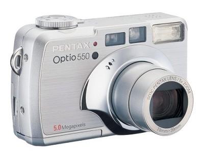 Optio 550 Digital Camera