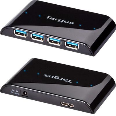 4 Port USB 3.0 SuperSpeed Hub