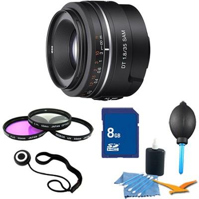 SAL35F18 - DT 35mm f/1.8 SAM Lens for Sony Alpha DSLR's Essentials Kit