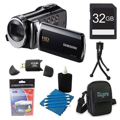 HMX-F80 52X Optimal Zoom HD Camcorder Black Kit