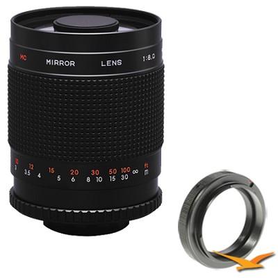 500M - 500mm f/8.0 Mirror Lens for Sony Alpha / Minolta