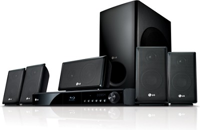 LHB335 - Blu-ray Disc High-definition Home Theater System - OPEN BOX