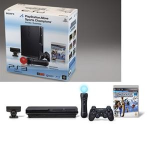 PlayStation 3 Console 320GB Move Bundle / Black