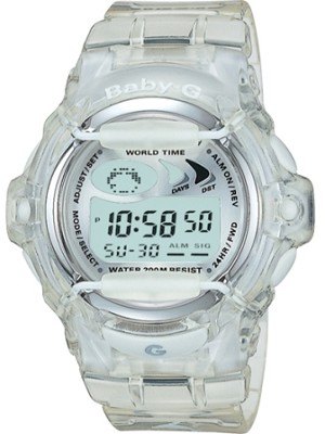 BG169-7V - Baby-G Clear Jelly Shock Resistant Sport Watch