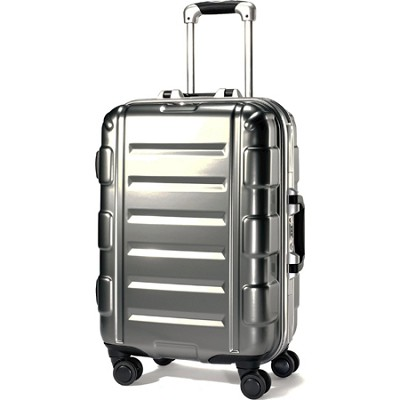 Cruisair Bold 21 Inch Spinner Bag - Silver