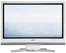 LC-32GP3U-W AQUOS 32` High-definition 1080p `Video Gamers` LCD TV (White)