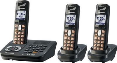 KX-TG6443T DECT 6.0 Expandable Digital Cordless Phone System