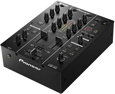 2-Channel DJ Performance Mixer - DJM-350