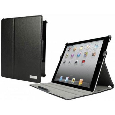 Nailhead Fabric Black Armour 3rd/4th Generation iPad Case
