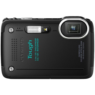 STYLUS TOUGH TG-620 3-inch LCD 1080p HD Digital Camera - Black OPEN BOX